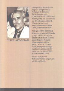 Oğuz Akdoğan, Şiirler, 2. Baskı Arka Kapak