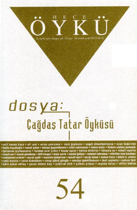 HECE ÖYKÜ DERGİSİ - SAYI 54 - ARALIK 2012 OCAK 2013