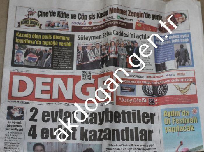 DENGE GAZETESİ - AYDIN