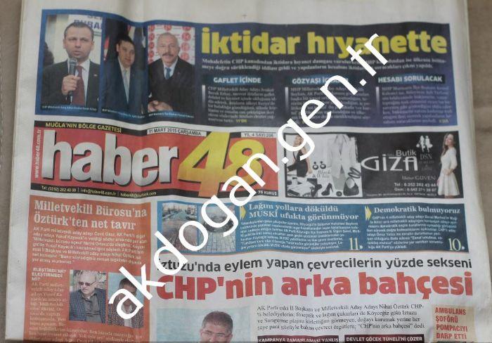 HABER48 GAZETESİ - MUĞLA