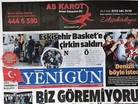 Eskişehir Yenigün Gazetesi