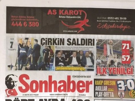 Eskişehir Sonhaber Gazetesi