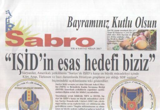 Sabro Gazetesi - Sayı 62 - Nisan 2017