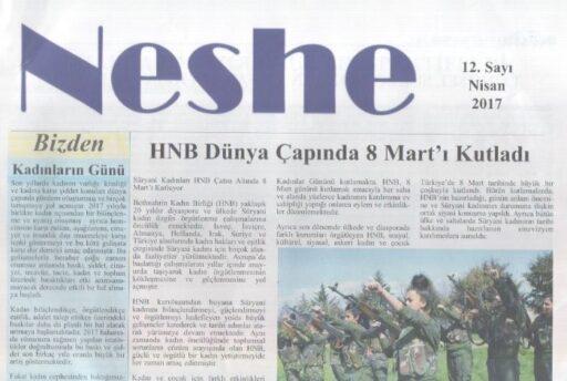 Neshe Bülteni - Sayı 12 - Nisan 2017