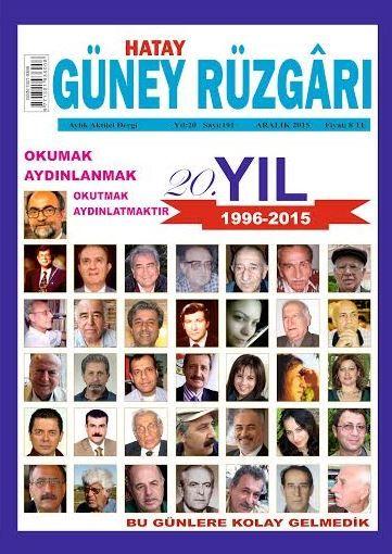 Güney Rüzgarı Dergisi - Sayı 191 - Aralık 2015