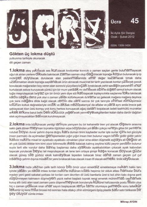 ÜCRA 45 - OCAK ŞUBAT 2012