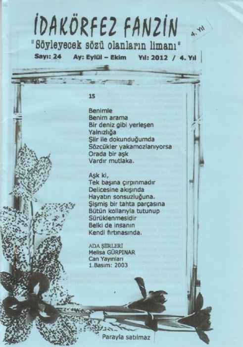 İDAKÖRFEZ FANZİN - SAYI 24 - EYLÜL EKİM 2012