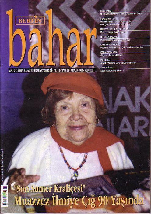 BERFİN BAHAR DERGİSİ - SAYI 81 - KASIM 2004