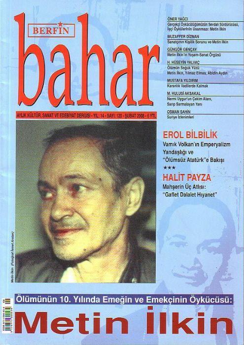 BERFİN BAHAR DERGİSİ - SAYI 120 - ŞUBAT 2008