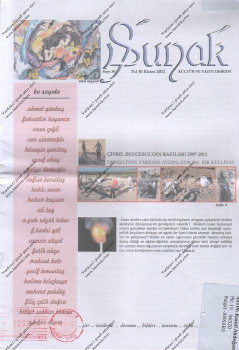 SUNAK DERGİSİ - SAYI 36 - EKİM 2012