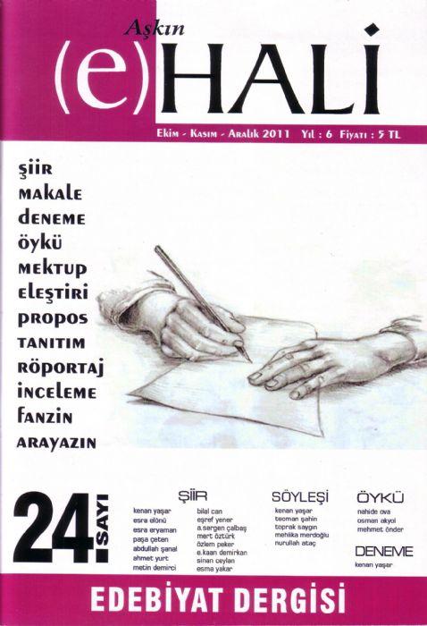 AŞKIN E HALİ DERGİSİ - SAYI 24 - EKİM KASIM ARALIK 2011
