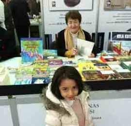 Ayla Kutlu 8. Ankara Kitap Fuarı'nda