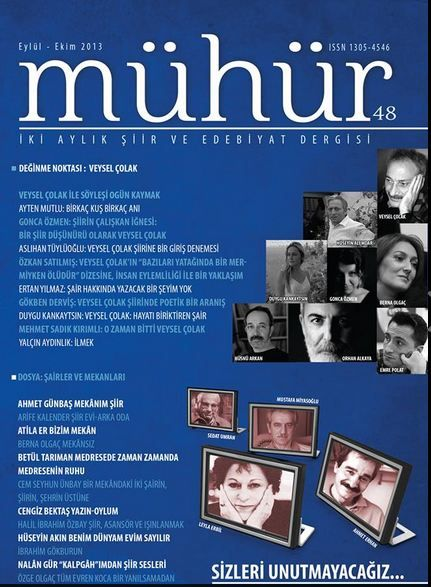 MÜHÜR DERGİSİ - SAYI 48 - EYLÜL EKİM 2013
