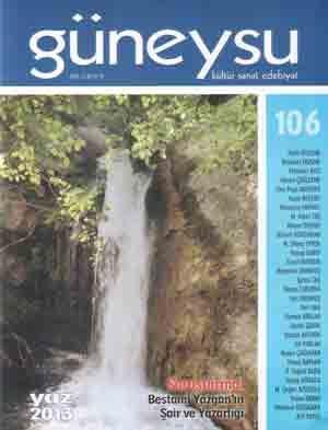 GÜNEYSU DERGİSİ - SAYI 106 - YAZ 2013
