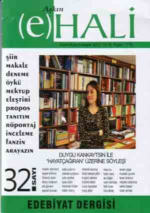 AŞKIN E HALİ DERGİSİ - SAYI 32 - EKİM KASIM ARALIK 2013