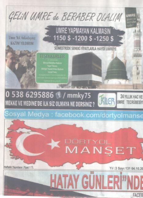 Dörtyol Manşet Gazetesi