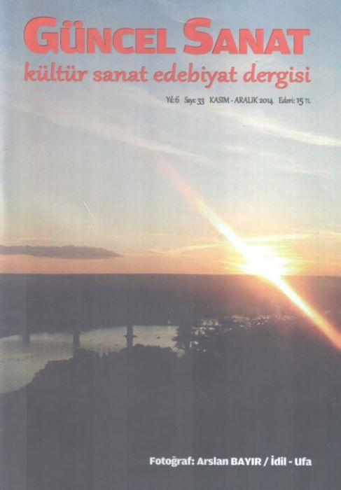 GÜNCEL SANAT DERGİSİ - SAYI 33 - KASIM ARALIK 2014