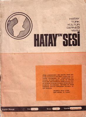 HATAY'IN SESİ DERGİSİ - SAYI 57