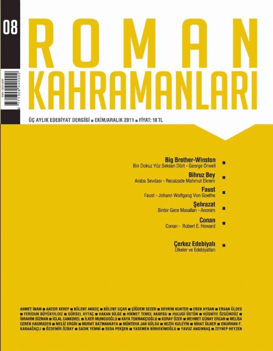 ROMAN KAHRAMANLARI DERGİSİ - SAYI08 - EKİM KASIM ARALIK 2011