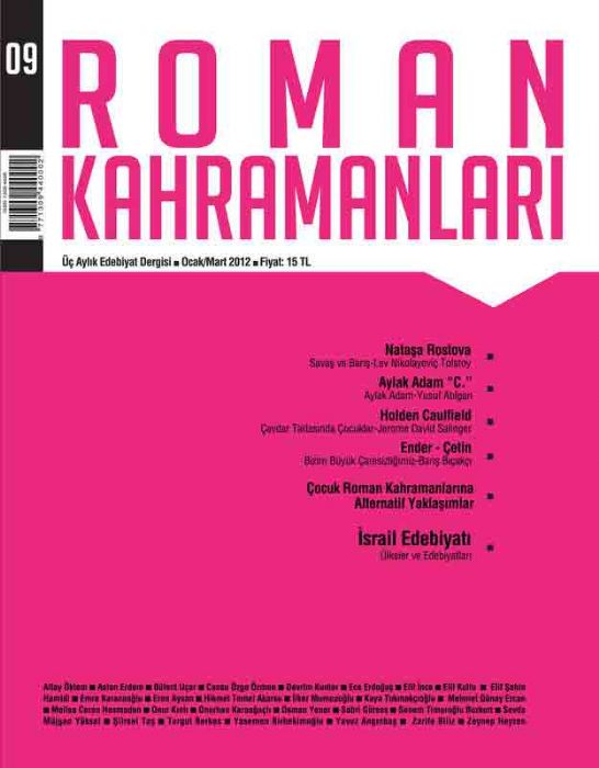 ROMAN KAHRAMANLARI DERGİSİ - SAYI 5 - OCAK MART 2012