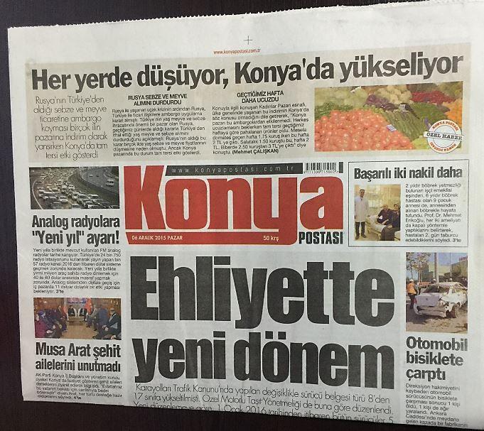 Konya - Konya Postası