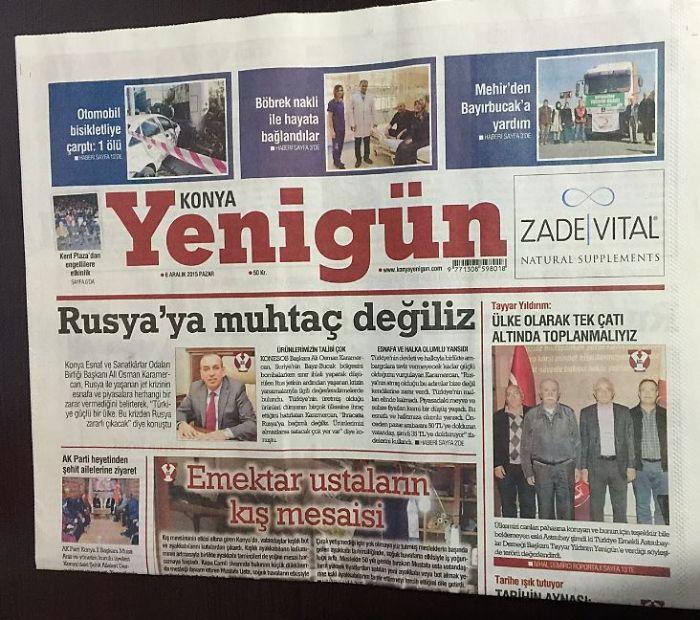 Konya - Yenigün
