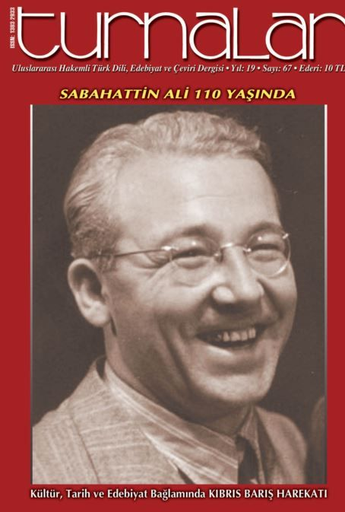 turnalar kültür, edebiyat, dil ve çeviri dergisi Sayı 67