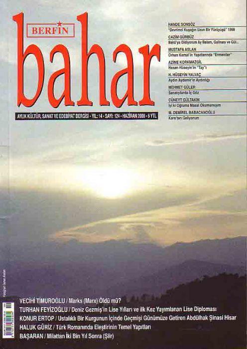 BERFİN BAHAR DERGİSİ - SAYI 124 - HAZİRAN 2008