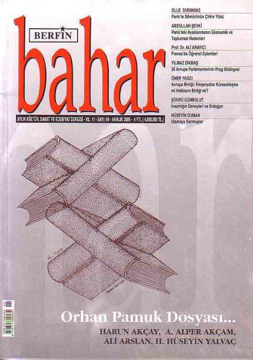 BERFİN BAHAR DERGİSİ - SAYI 94- ARALIK 2005