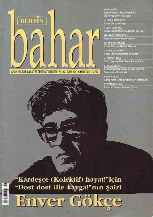 BERFİN BAHAR DERGİSİ - SAYI 104 - EKİM 2006