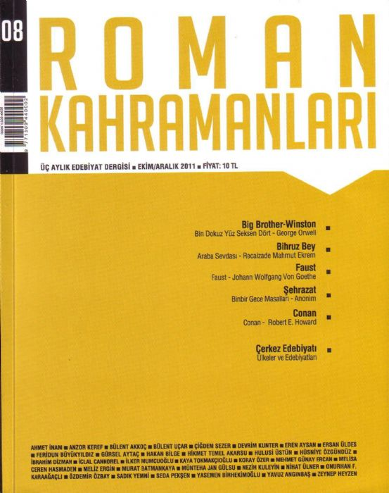 ÖYKÜ TEKNESİ DERGİSİ - KASIM ARALIK 2011