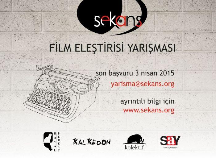 SEKANS FİLM ELEŞTİRİSİ YARIŞMASI - 2015