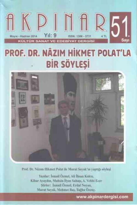 AKPINAR DERGİSİ - SAYI 51 - MAYIS HAZİRAN 2014
