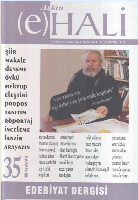 AŞKIN (E) HALİ DERGİSİ - SAYI 35 - TEMMUZ AĞUSTOS EYLÜL 2014