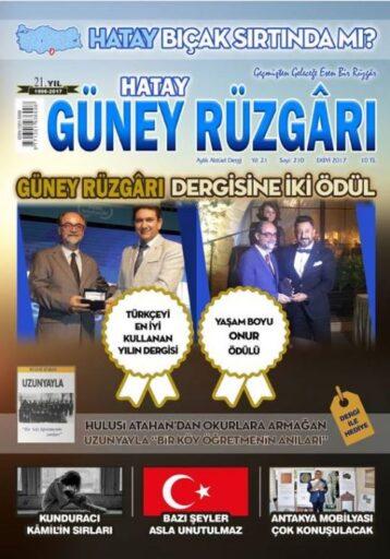 Güney Rüzgarı Dergisi - Sayı 210 - Ekim 2017