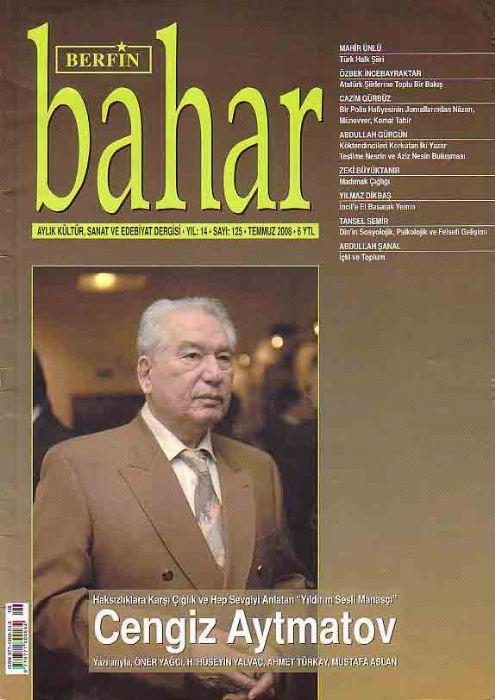BERFİN BAHAR DERGİSİ - SAYI 125 - TEMMUZ 2008