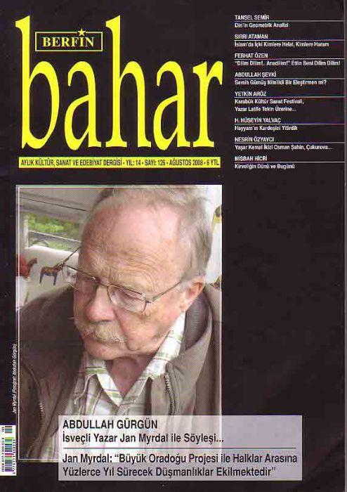 BERFİN BAHAR DERGİSİ - SAYI 126 - AĞUSTOS 2008