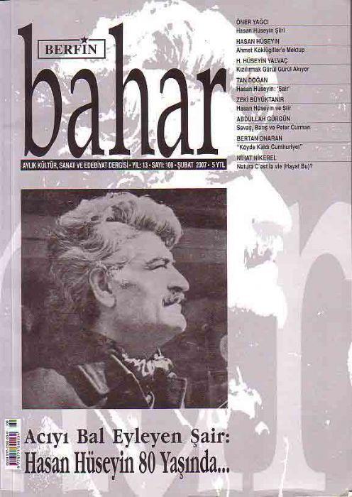 BERFİN BAHAR DERGİSİ - SAYI 108 - ŞUBAT 2007