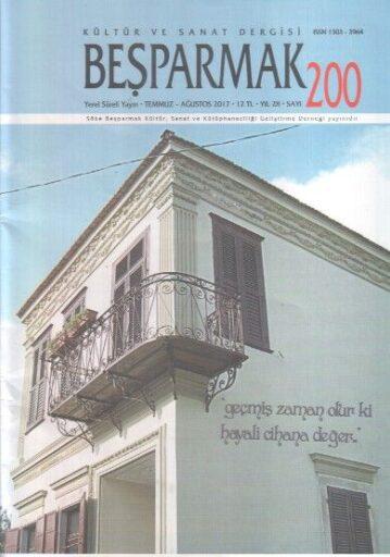 Beşparmak Dergisi - Sayı 200 - Temmuz Ağustos 2017