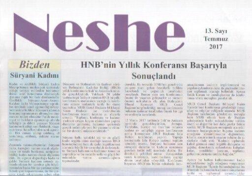 Neshe Bülteni - Sayı 13 - Temmuz 2017