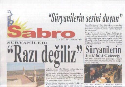 Sabro Gazetesi - Sayı 65 - Temmuz 2017