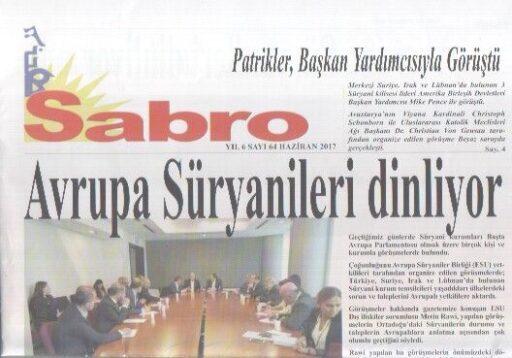 Sabro Gazetesi - Sayı 64 - Haziran 2017