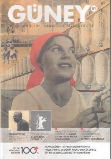 Güney Dergisi - Sayı 81 - Temmuz Ağustos Eylül 2017