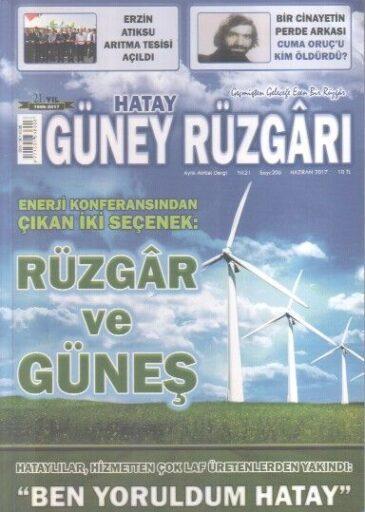 Güney Rüzgarı Dergisi - Sayı 206 - Haziran 2017