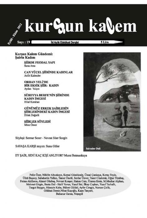 KURŞUN KALEM DERGİSİ - SAYI 19 - EYLÜL EKİM 2012