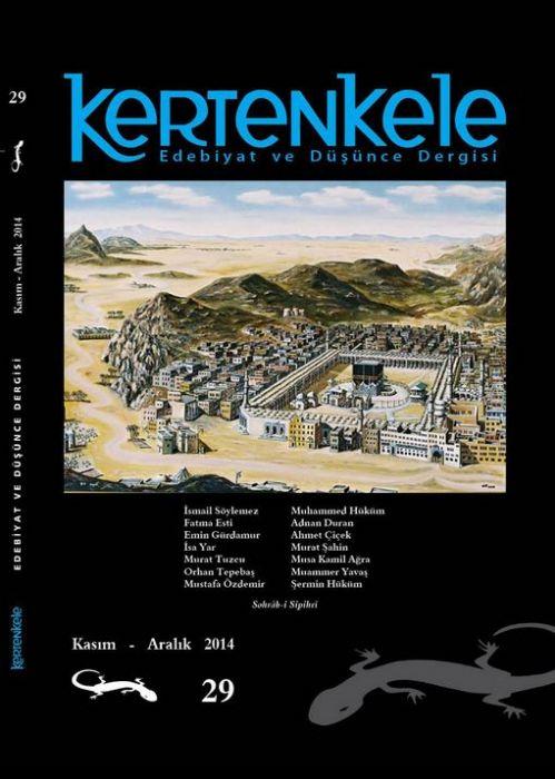 KERTENKELE DERGİSİ - SAYI 29 - KASIM ARALIK 2014