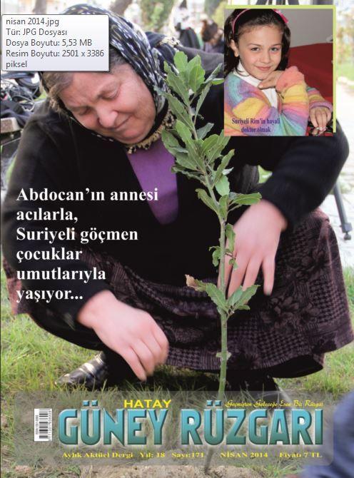 Güney Rüzgarı Dergisi -Nisan 2014