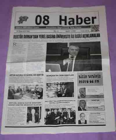 ARTVİN - 08 HABER GAZETESİ