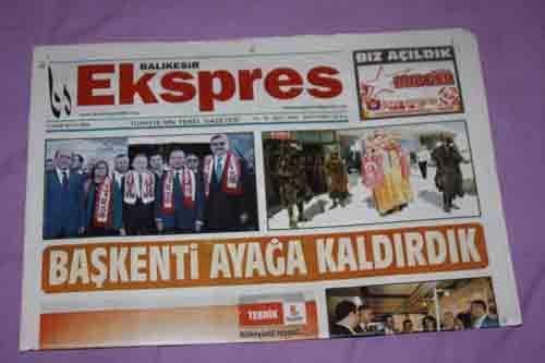 BALIKESİR EKSPRES GAZETESİ