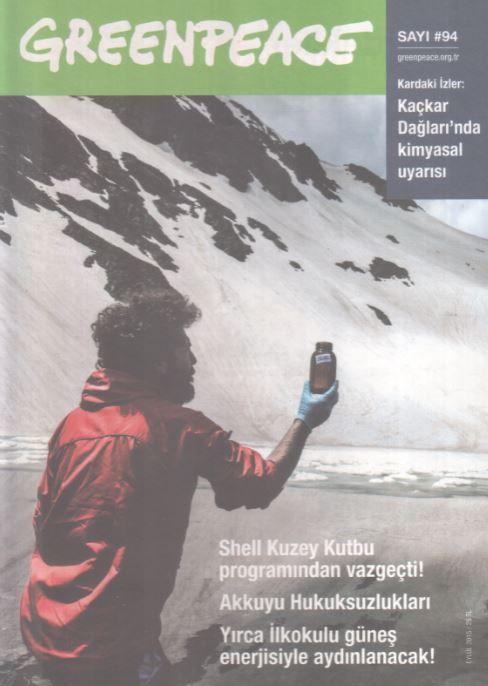 Greenpeace Bülteni - Sayı 94 - Eylül 2015